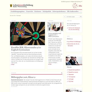 Lehrerfortbildungsserver- Startseite
