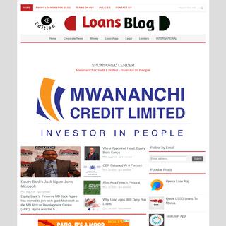 Loans Kenya Blog