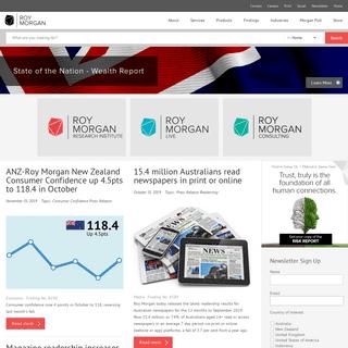 Roy Morgan - Market Research & Analysis - Roy Morgan Research