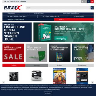 Software, Hardware, Computer & Technik online kaufen - Future-X.de