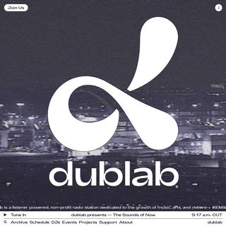 A complete backup of dublab.com