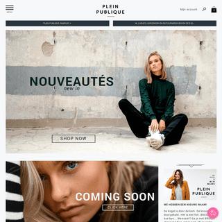 Plein Publique - Bretonse streep kleding voor dames