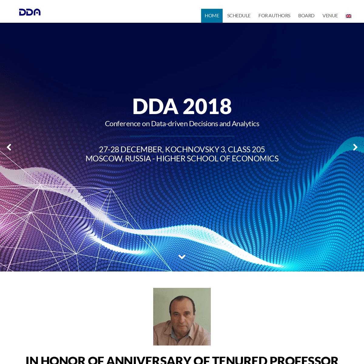 ArchiveBay.com - ddaconf.org - DDA 2018