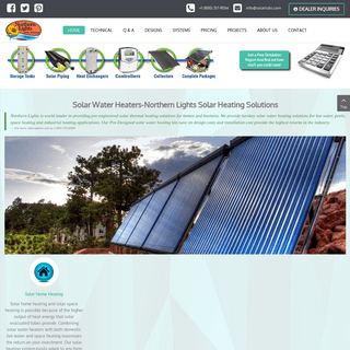 Solar Water Heater Panels & Collector- Northern Lights Solar Solutions