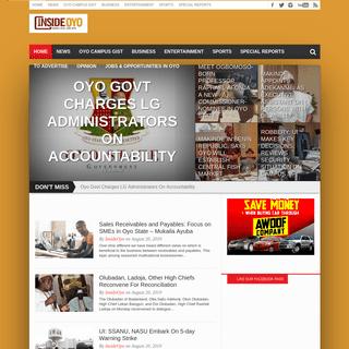 InsideOyo.com - Your No. 1 Community Newspaper in Oyo