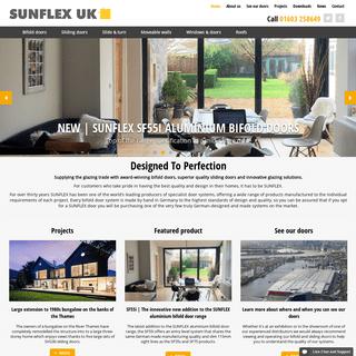 SUNFLEX UK - Award winning bifold doors & sliding doors - Sunflex UK