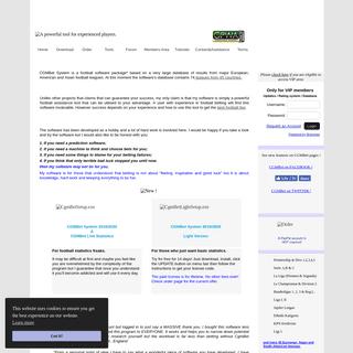ArchiveBay.com - cgmbet.com - CgmBet System - a powerful tool for experienced punters