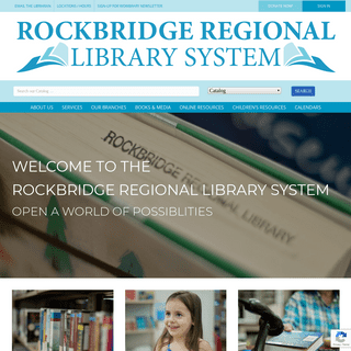 Welcome to the Rockbridge Regional Library System