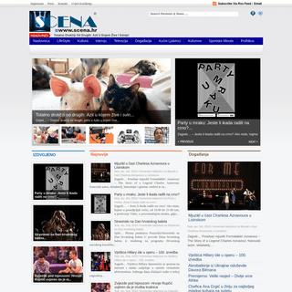 Scena.hr - News lifestyle portal -Scena.hr