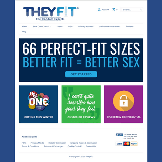 TheyFit — 66 Condom Sizes