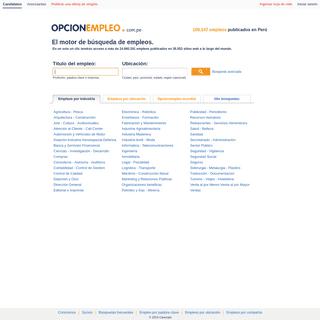 Opcionempleo.com.pe - Empleos & Carreras profesionales en Perú