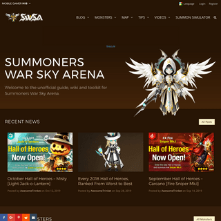Summoners War Wiki Guide- Tips and Strategy