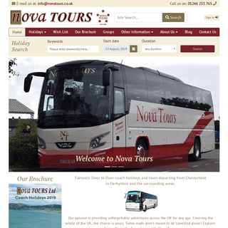 ArchiveBay.com - novatours.co.uk - Nova Tours UK Coach Holidays