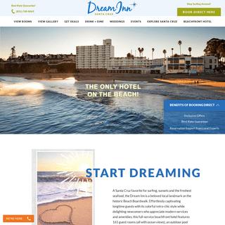 Dream Inn Santa Cruz - Official Site - Santa Cruz Hotels