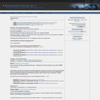Bundeswehrforum.de - Startseite