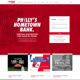 Firstrust Bank - Philly's Hometown Bank for Over 85 Years - Firstrust Bank