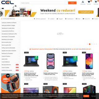CEL.ro - CEL mai cel, online din 2004