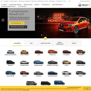 Renault Italia - Automobili, veicoli elettrici e vetture aziendali