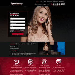 ArchiveBay.com - nightexchange.com - Night Exchange - Phone Chat with Local Singles - Free Trial