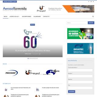 AEROSOL la revista – Órgano Oficial de Comunicación de FLADA