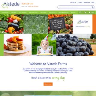Home - Alstede Farms - NJ