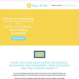 Blog to Biz Hive by Melyssa Griffin