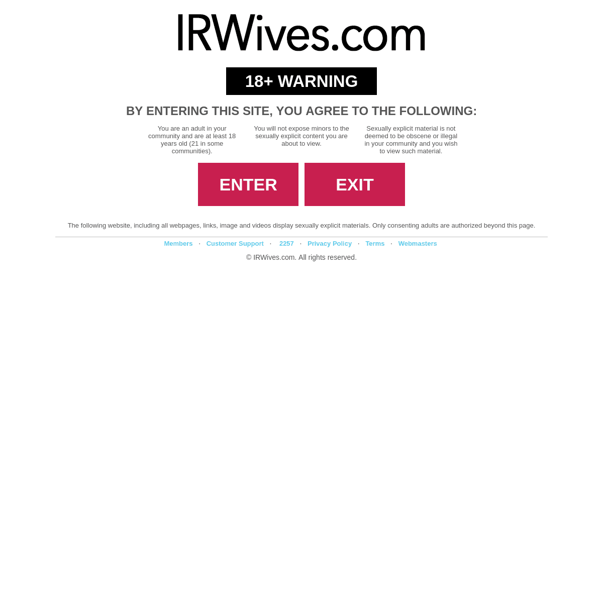 IRWives.com - Real Amatateur Interracial Loving Wives!