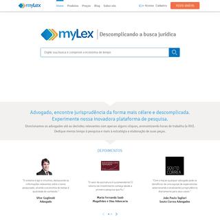 myLex- jurisprudência unificada relevante e legislação atualizada