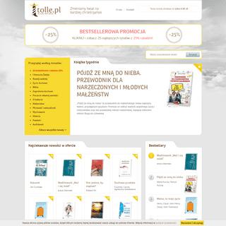 Klub Książki Tolle.pl - zmieniamy świat na bardziej chrześcijański
