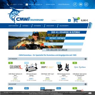 CMW Rutenbau- Ihr Spezialist für Rutenbau und Angelgeräte