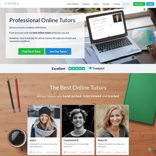 Spires - Professional Online Tutors