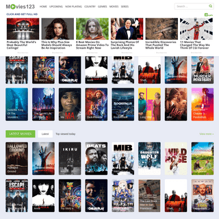 Movies123 - Watch Movies Online For Free - Download Full Movies 123