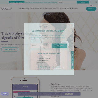 Ovulation Tracking Bracelet - Ava