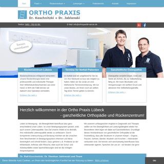 ORTHO PRAXIS Dr. Koschnitziki & Dr. Jablonski in Lübeck