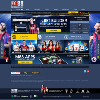 M88 - Best Online Casino and Online Gambling in Asia