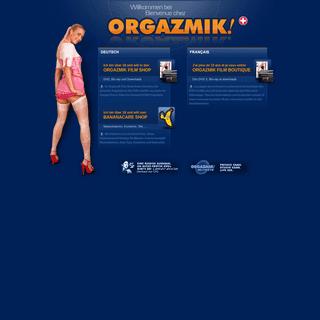 + ORGAZMIK Schweiz-Suisse - Porno DVD - Blu-ray Shop, Liebesspielzeuge, Sexfilm Download (VOD)