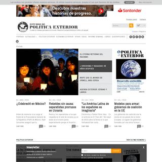 ArchiveBay.com - politicaexterior.com - Estudios de Politica Exterior - Grupo editorial de Actualidad Internacional