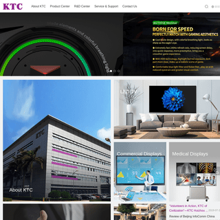 Shenzhen KTC Technology Group-KTC_Lcd tv_Medical display_Commercial display_Monitor
