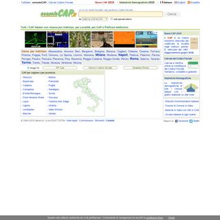 ArchiveBay.com - nonsolocap.it - Cerca CAP Italia - Codici di Avviamento Postale - nonsoloCAP.it