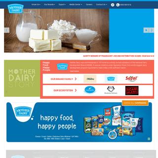 ArchiveBay.com - motherdairy.com - Home