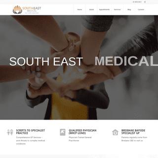 South East Medical - Medical Centre - Your Expert GP - Brisbane Bayside