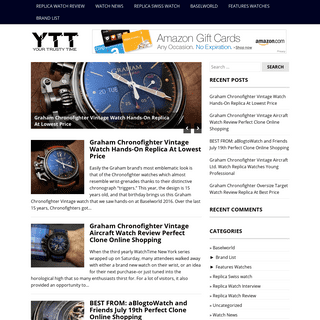 ArchiveBay.com - yourtrustytime.org - High Quality Replica Watches Review in Your Trusty Time - Top Brands- Rolex, Panerai, Audemars Piguet, Hublot, etc
