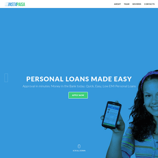 Instant Online Personal Loan
