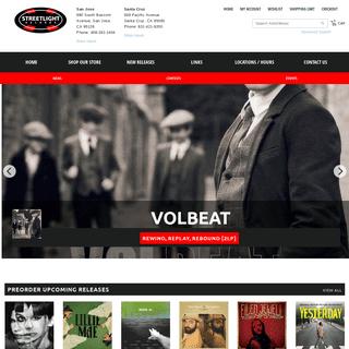 ArchiveBay.com - streetlightrecords.com - Home - Streetlight Records