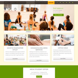 ArchiveBay.com - satoriyogastudio.com - Yoga in San Francisco's Downtown Financial District - Satori Yoga Studio