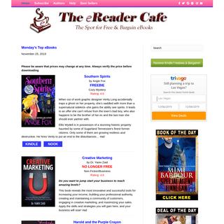 The eReader Cafe – Free & Bargain Kindle Books
