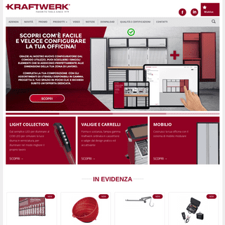 Kraftwerk - Utensili HQ per Officine & Carrozzerie - Sito Ufficiale