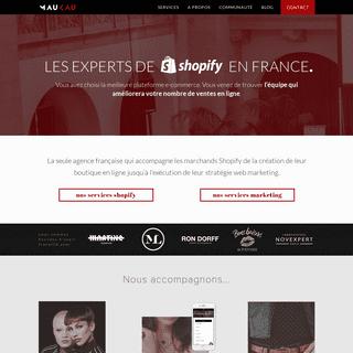 Agence Shopify et web marketing à Paris