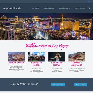 Las Vegas Reiseführer - Infos, Tipps, alles über Las Vegas