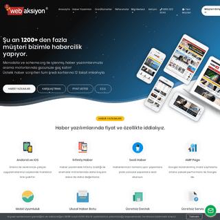Web Aksiyon Haber Yazılımı Scripti ve Paketleri